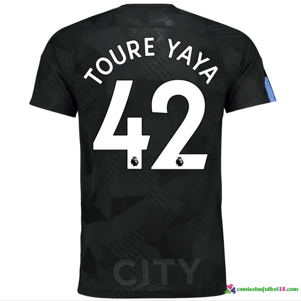 Toure Yaya Camiseta 3ª Kit Manchester City 2017 2018