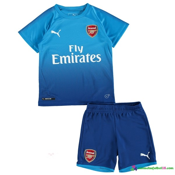 Camiseta 2ª Kit Conjunto Niño Arsenal 2017 2018