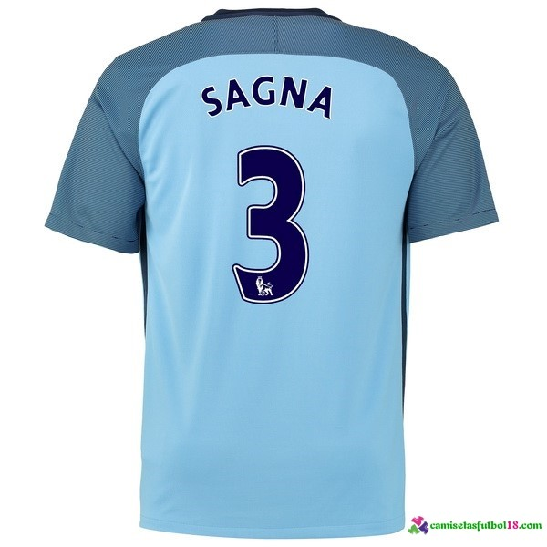 Sagna Camiseta 1ª Kit Manchester City 2016 2017