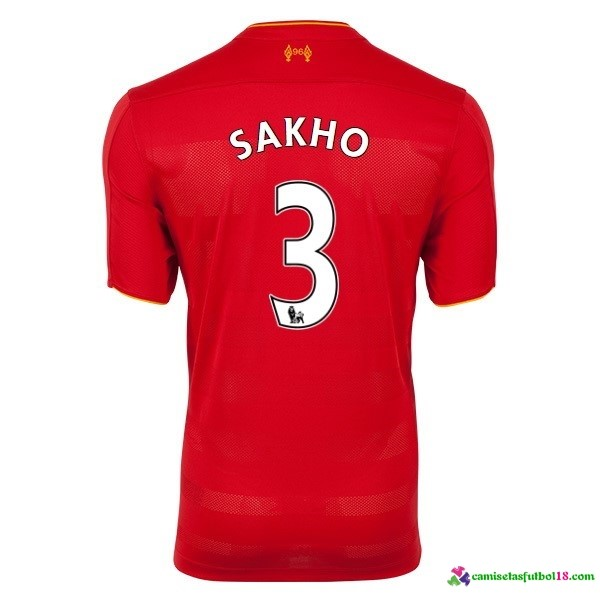 Sakho Camiseta 1ª Kit Liverpool 2016 2017