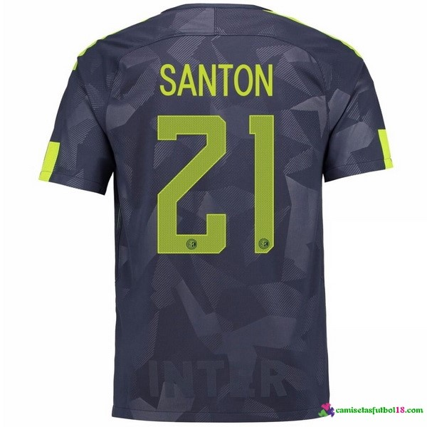 Santon Camiseta 3ª Kit Inter Milan 2017 2018