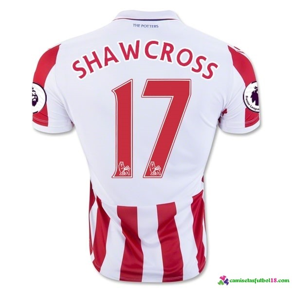 Shawcross Camiseta 1ª Kit Stoke City 2016 2017