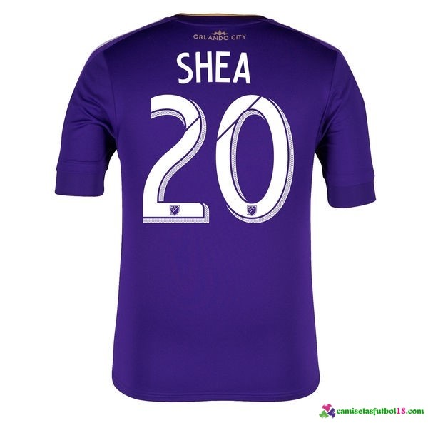 Shea Camiseta 1ª Kit Orlando City 2016 2017
