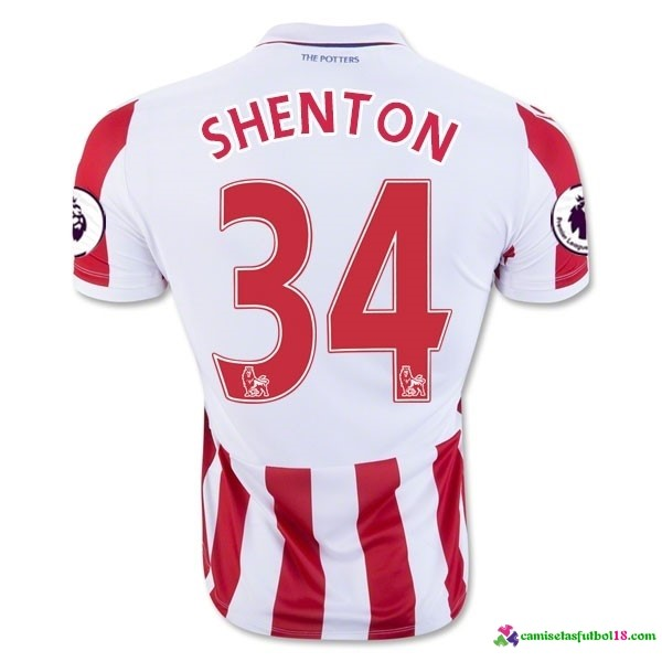 Shenton Camiseta 1ª Kit Stoke City 2016 2017