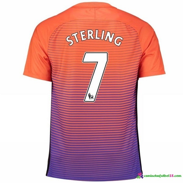 Sterling Camiseta 3ª Kit Manchester City 2016 2017