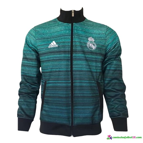 Chaqueta Real Madrid 2017 2018 Verde