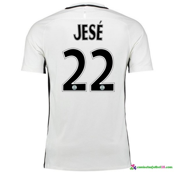 Jese Camiseta 3ª Kit Paris Saint Germain 2016 2017