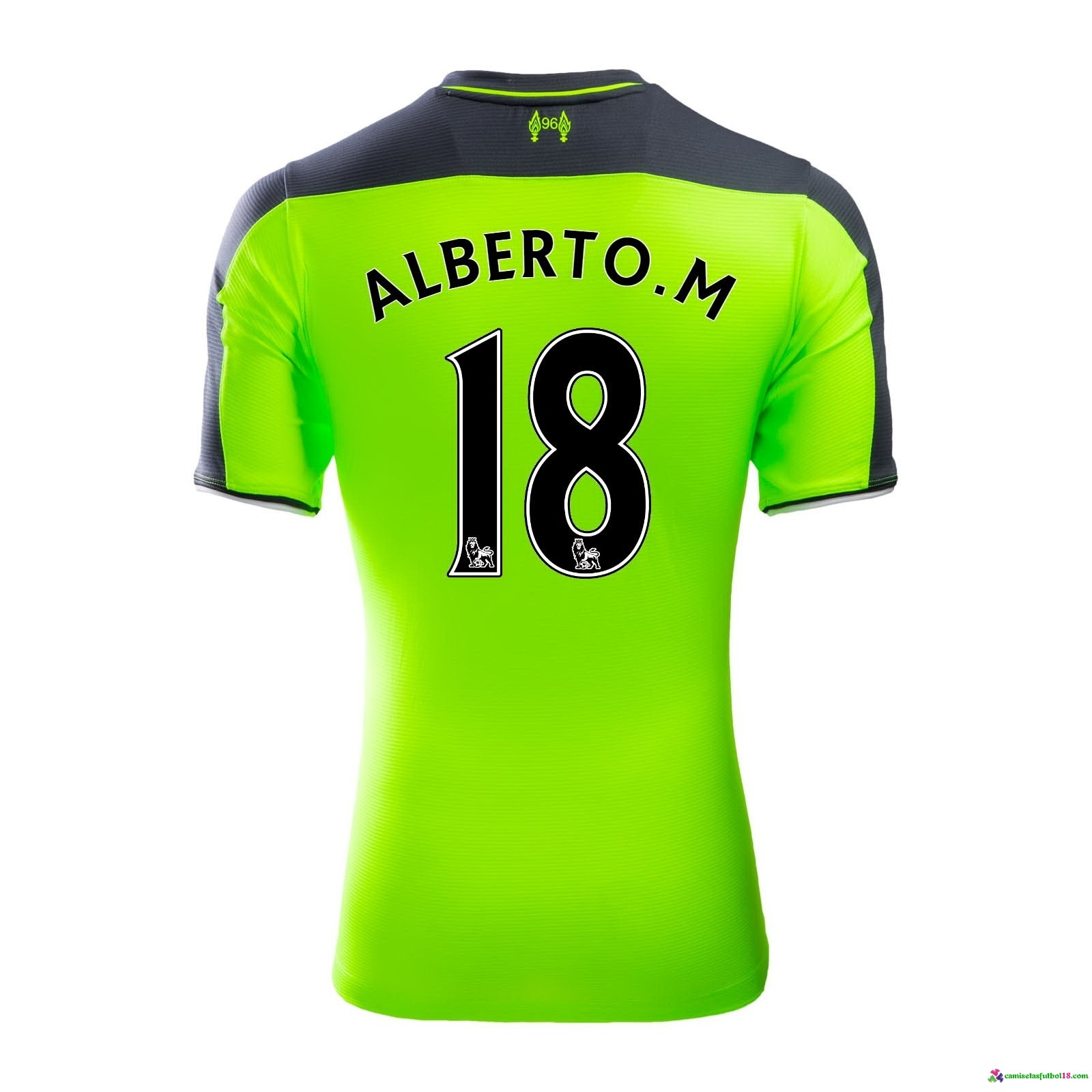 Alberto.M Camiseta 3ª Kit Liverpool 2016 2017