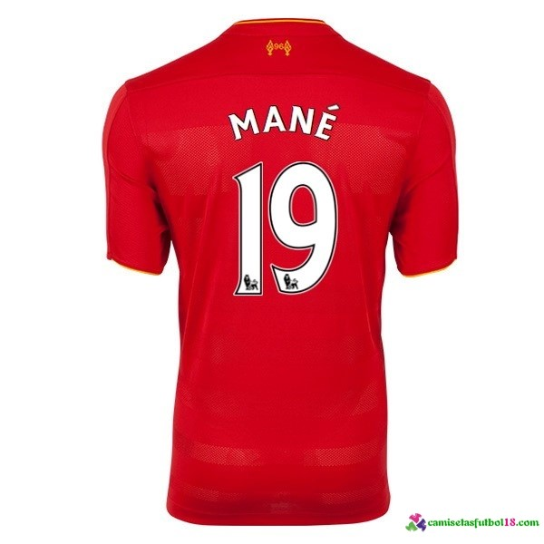 Mane Camiseta 1ª Kit Liverpool 2016 2017