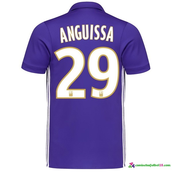 Anguissa Camiseta 3ª Kit Marsella 2017 2018