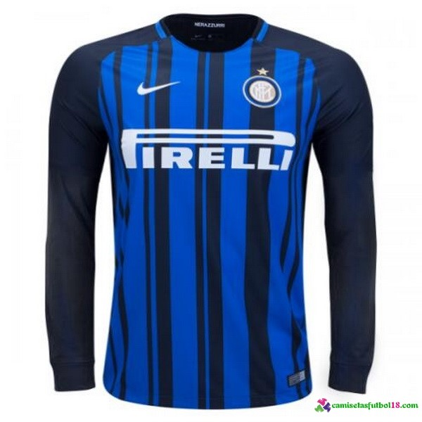 Tailandia 1ª Kit ML Inter Milan 2017 2018