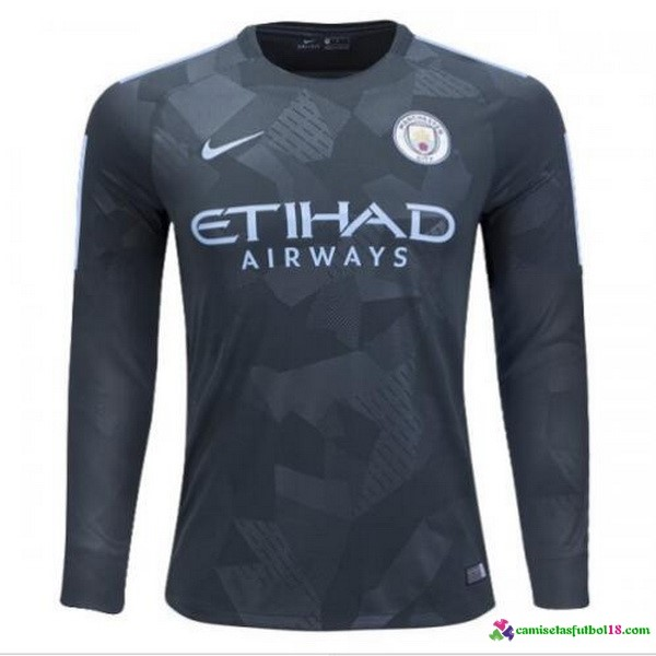 Tailandia 3ª Kit ML Manchester City 2017 2018