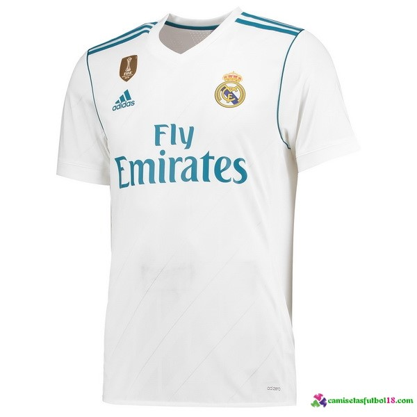 Tailandia Camiseta 1ª Kit Real Madrid 2017 2018