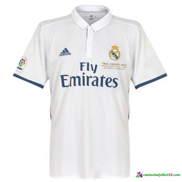 Tailandia Camiseta 1ª Kit Real Madrid Final Cardiff 2017
