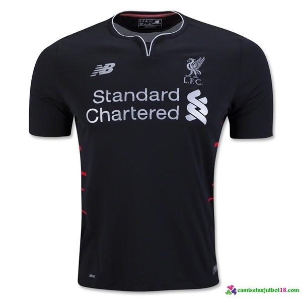 Tailandia Camiseta 2ª Kit Liverpool 2016 2017