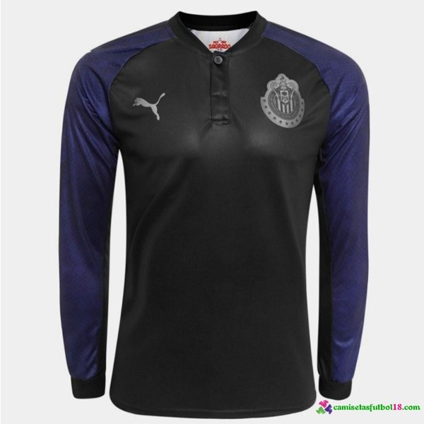 Tailandia Camiseta 2ª Kit ML CD Guadalajara 2017 2018