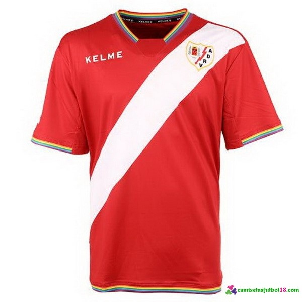 Tailandia Camiseta 2ª Kit Rayo Vallecano de Madrid 2017 2018