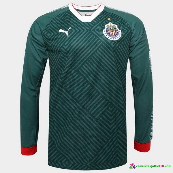 Tailandia Camiseta 3ª Kit ML CD Guadalajara 2017 2018