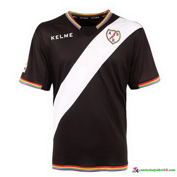 Tailandia Camiseta 3ª Kit Rayo Vallecano de Madrid 2017 2018