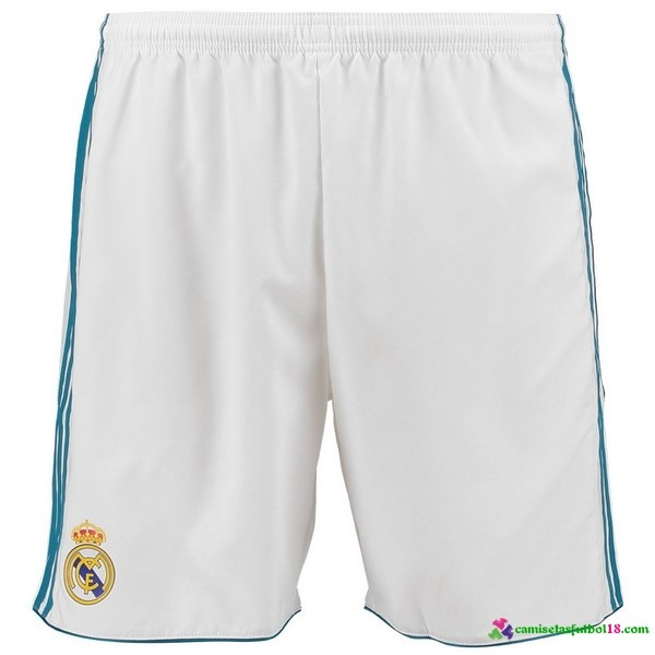 Tailandia Pantalones 1ª Kit Real Madrid 2017 2018