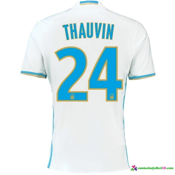 Thauvin Camiseta 1ª Kit Marsella 2016 2017
