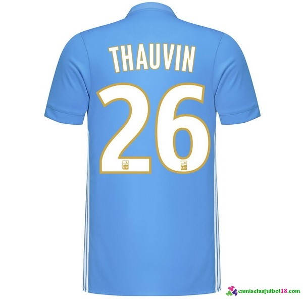 Thauvin Camiseta 2ª Kit Marsella 2017 2018