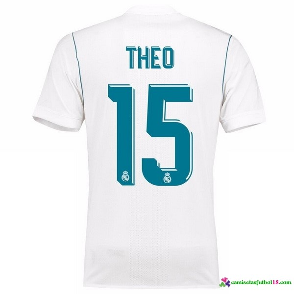 Theo Camiseta 1ª Kit Real Madrid 2017 2018