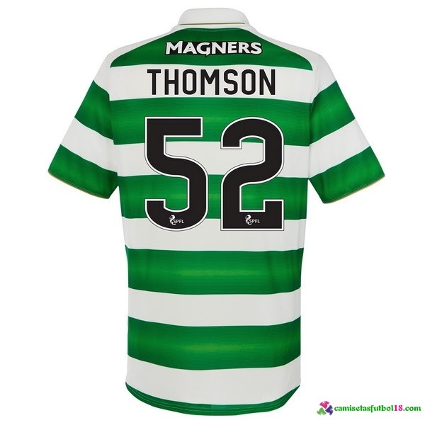 Thomson Camiseta 1ª Kit Celtic 2016 2017
