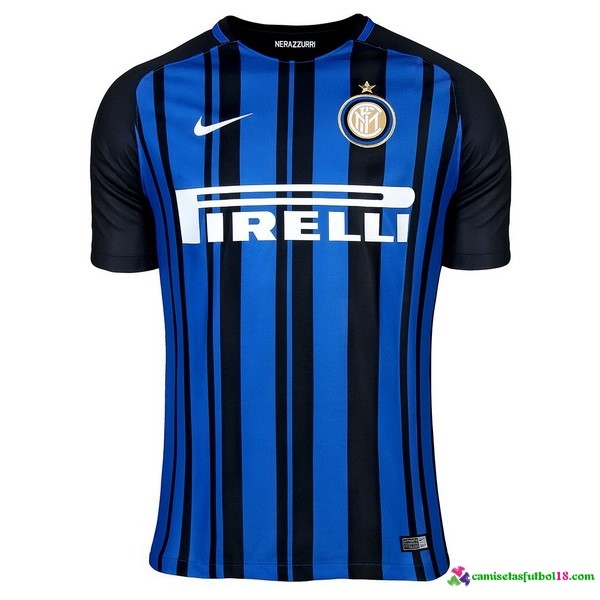Tailandia Camiseta 1ª Kit Inter Milan 2017 2018
