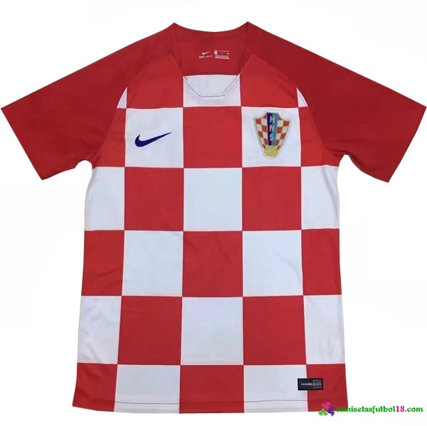 Tailandia Camiseta 1ª Kit Croatia 2018