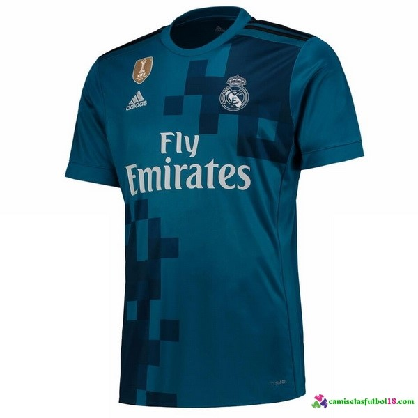 Tailandia Camiseta 3ª Kit Real Madrid 2017 2018