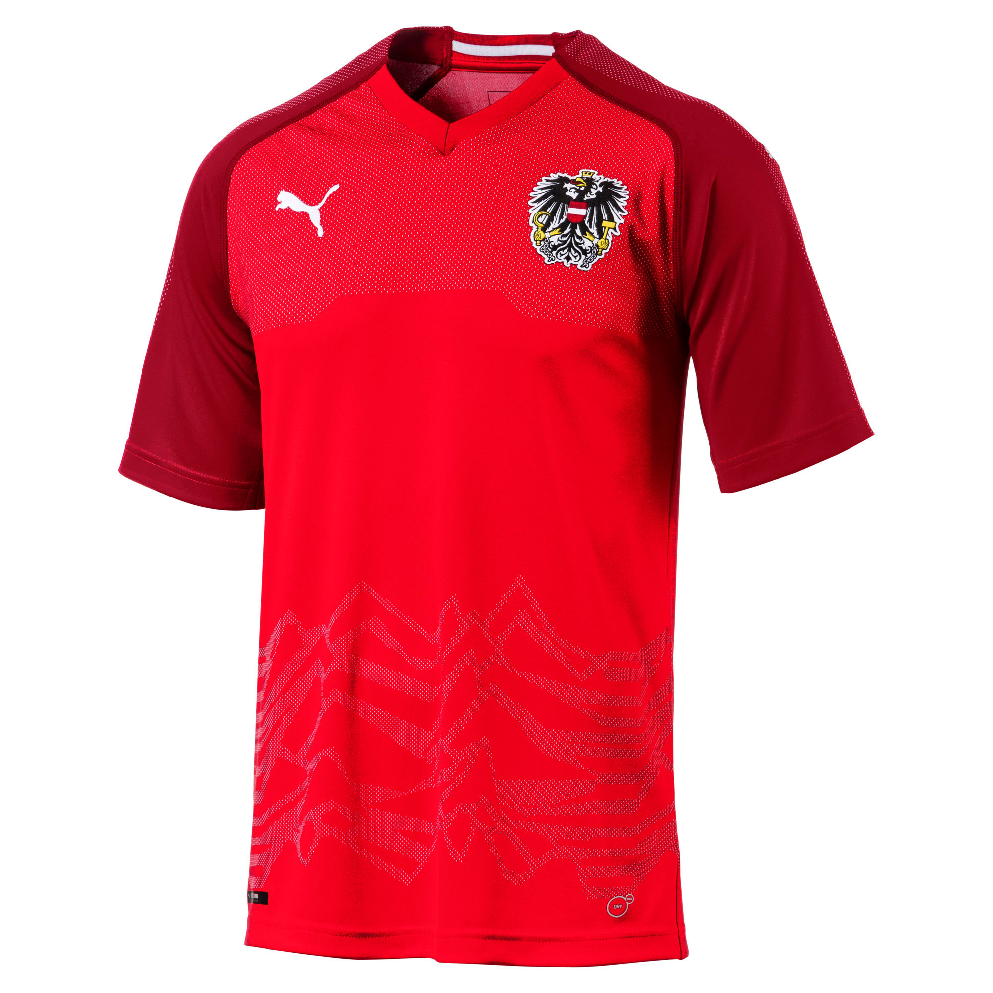 Camiseta 1ª Kit Austria 2018