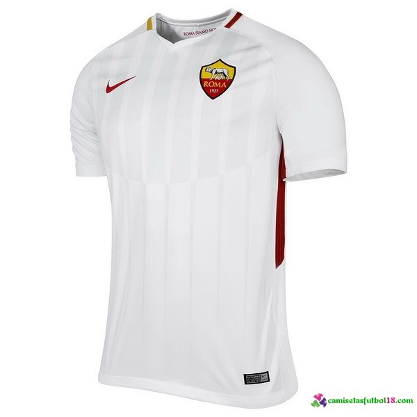 Camiseta 2ª Kit As Roma 2017 2018