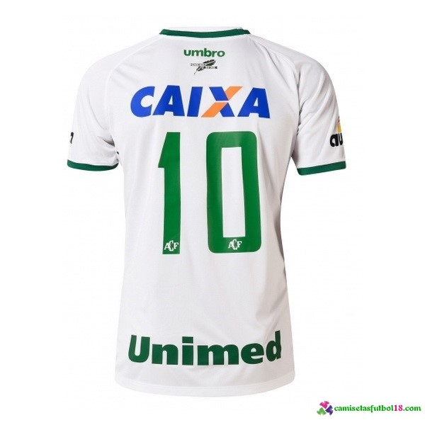 Unimed Camiseta 2ª Kit Chapecoense 2016 2017