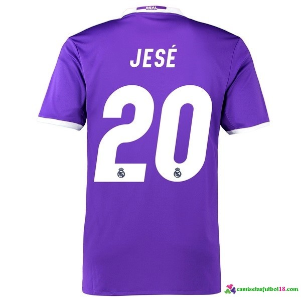 Jese Camiseta 2ª Kit Real Madrid 2016 2017