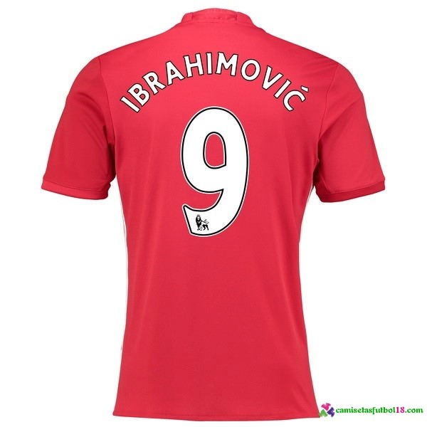 Ibrahimovic Camiseta 1ª Kit Manchester United 2016 2017