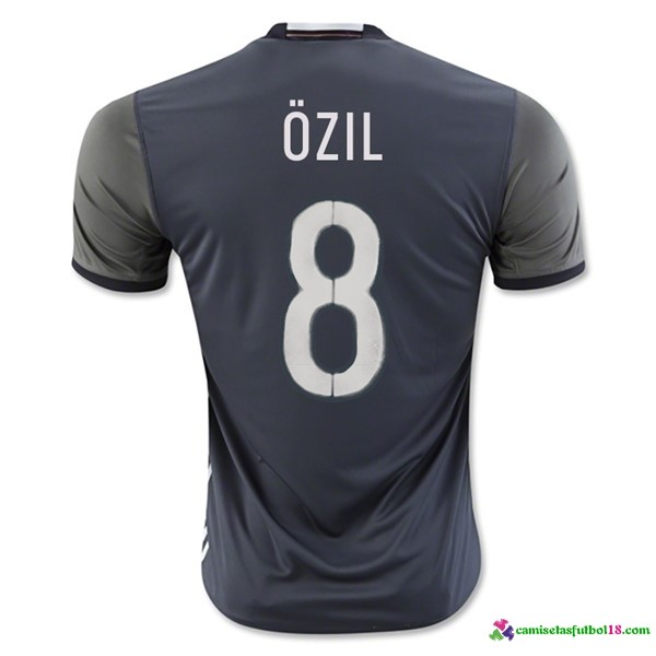 Ozil Camiseta 2ª Kit Alemania 2016