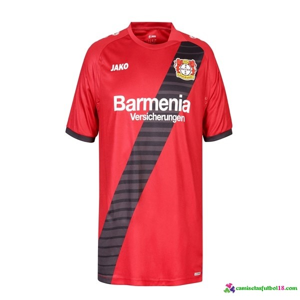 Camiseta 2ª Kit TSV Bayer 4 Leverkusen 2016 2017