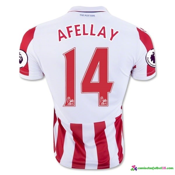 Afellay Camiseta 1ª Kit Stoke City 2016 2017