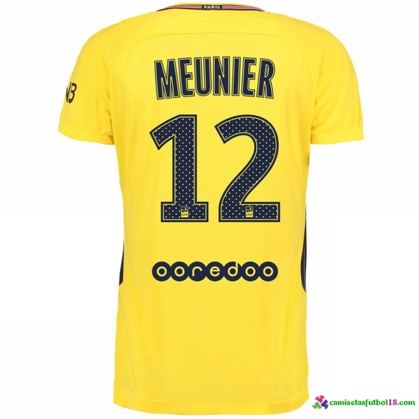 Meunier Camiseta 2ª Kit Paris Saint Germain 2017 2018