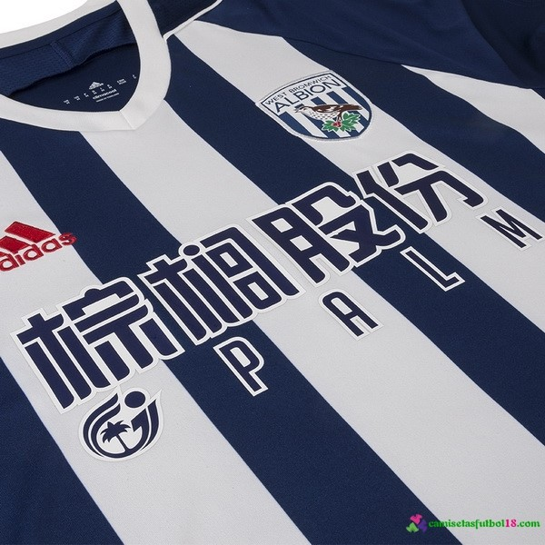 Camiseta 1ª Kit West Brom 2017 2018