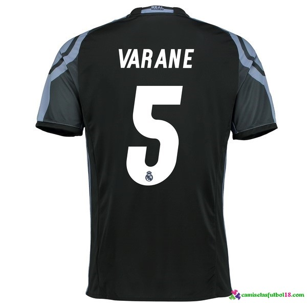 Varane Camiseta 3ª Kit Real Madrid 2016 2017