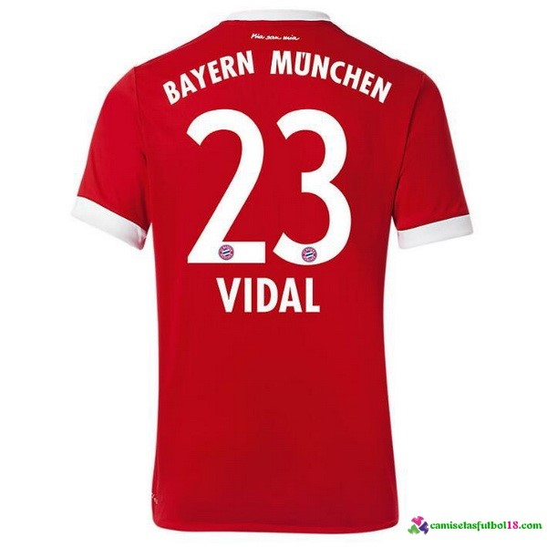 Vidal Camiseta 1ª Kit Bayern Munich 2017 2018
