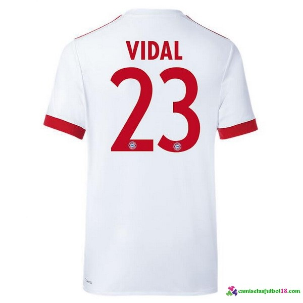 Vidal Camiseta 3ª Kit Bayern Munich 2017 2018