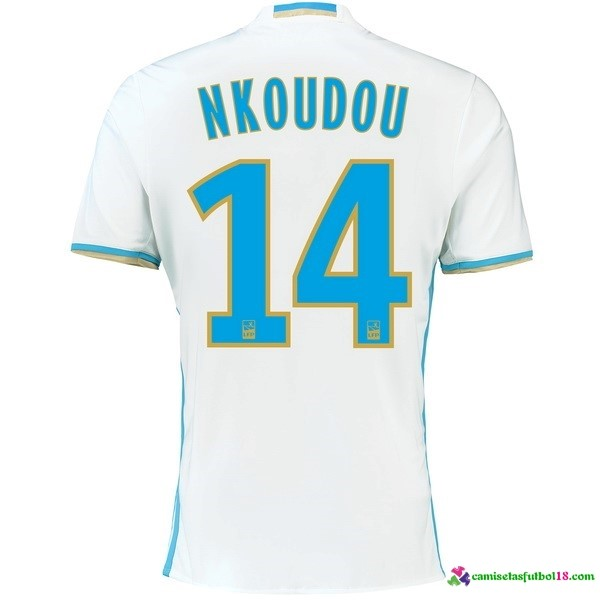 Nkoudou Camiseta 1ª Kit Marsella 2016 2017