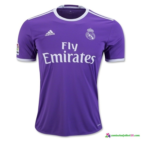 Camiseta 2ª Kit Real Madrid 2016 2017