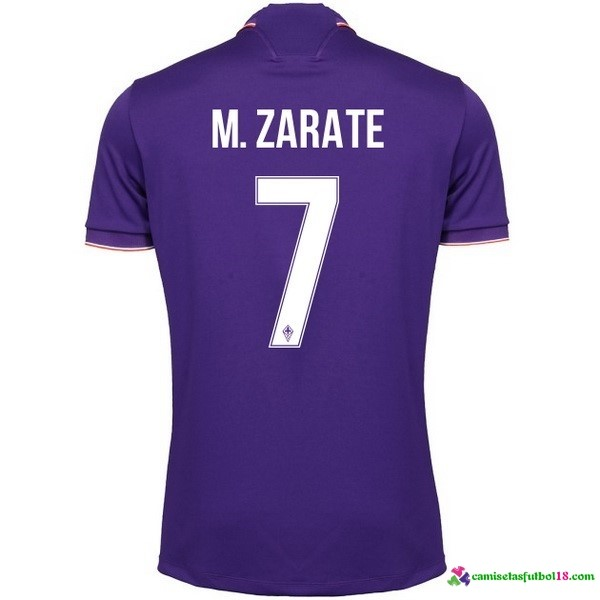 M.Zarate Camiseta 1ª Kit Fiorentina 2016 2017
