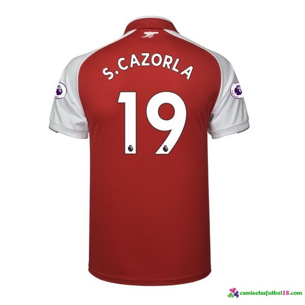S.Cazorla Camiseta 1ª Kit Arsenal 2017 2018