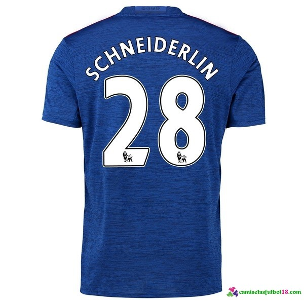 Schneiderlin Camiseta 2ª Kit Manchester United 2016 2017