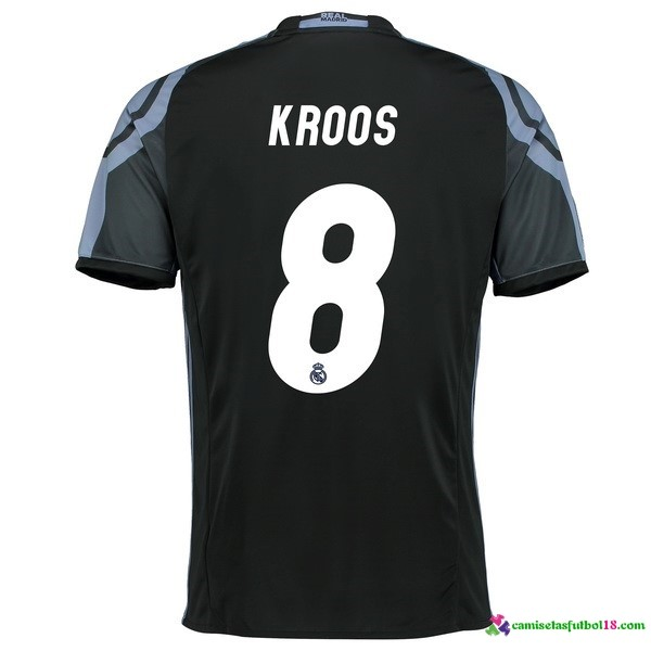 Kroos Camiseta 3ª Kit Real Madrid 2016 2017